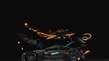 Cao Fei BMW Art Car - profile
