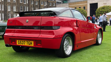 Alfa Romeo SZ - rear quarter
