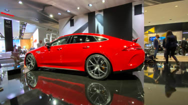 Mercedes-AMG GT63 S E Performance – side