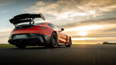 Mercedes-AMG GT Black Series - rear tracking low