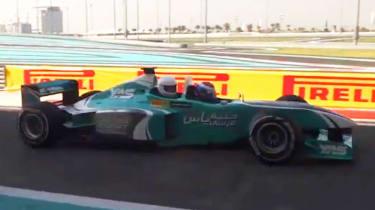 Two seat Formula 1 car