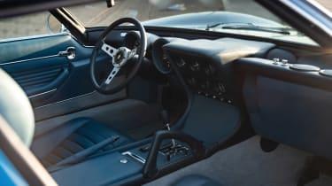 Lamborghini Miura SV interior