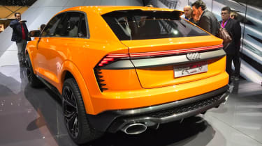 Audi Q8 sport concept - rear three quarter