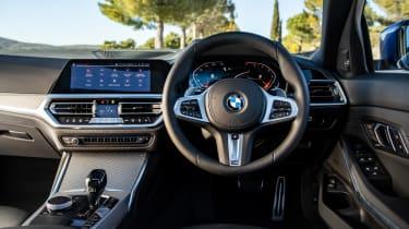 BMW 320d M Sport 2019 interior