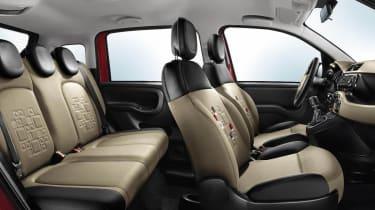 New 2012 Fiat Panda interior