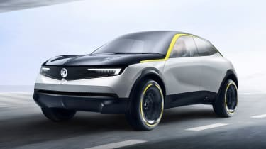 Vauxhall GT X Experiment Concept - front quarter