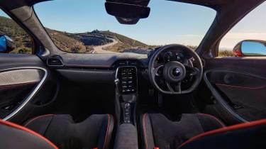 McLaren Artura revealed - orange interior