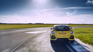 Honda Civic Type R Limited Edition - rear tracking 2
