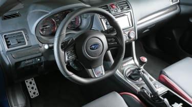 Subaru WRX STI interior dashboard