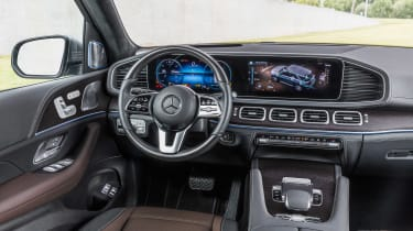 new Mercedes-Benz GLE - interior