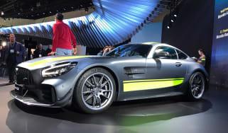 AMG GT R PRO live - front quarter