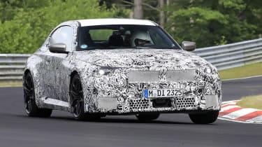 BMW M2 spies July 21