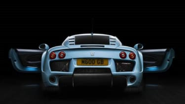 Noble M600 rear view