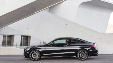Mercedes-AMG C43 Coupe - profile