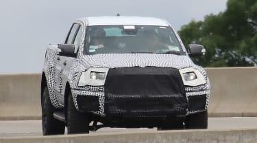 Ford Ranger Raptor spy - front
