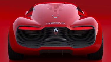 Renault DeZir gullwing concept