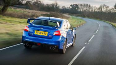Subaru WRX Final Edition – rear quarter