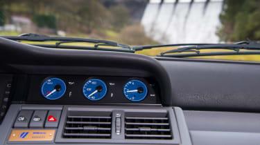 Renault Clio Williams - dials