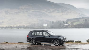 BMW X7 review - side