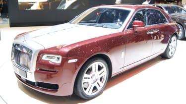 Rolls-Royce Ghost Series II: Geneva 2014