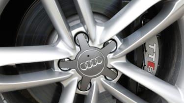 Audi TTS wheel