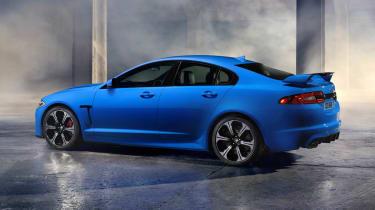 Jaguar XFR-S side profile