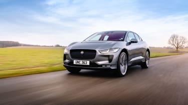 Jaguar I Pace – front tracking