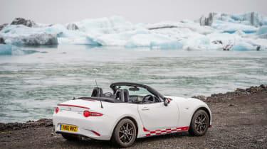Mazda MX-5 in Iceland - static rear
