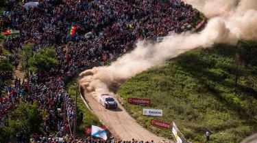 WRC Rally Portugal 2017 - M Sport Ford 4