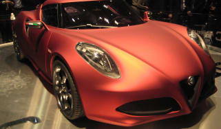 New Alfa Romeo 4C Concept live at Geneva