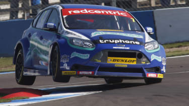 Mat Jackson Ford Focus two wheels
