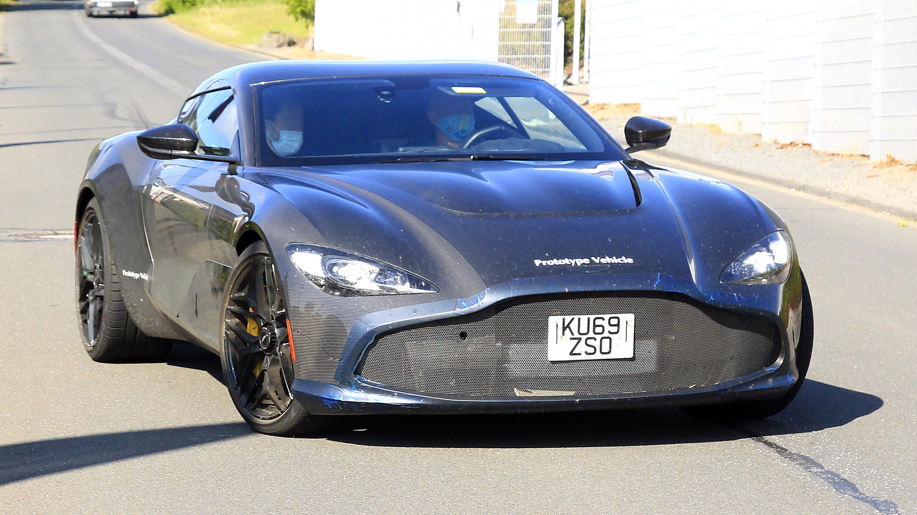 New Aston Martin Dbs Gt Zagato Spotted Testing Evo