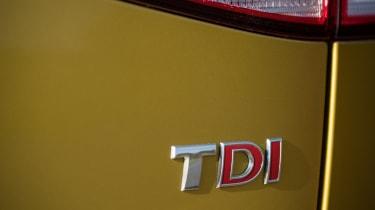 Volkswagen Golf TDI badge