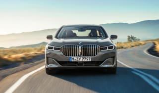 BMW 7-series header