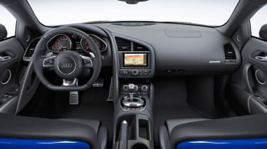 Audi R8 LMX quilted leather interior
