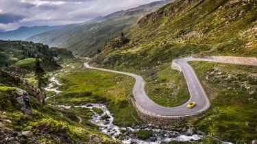 Porsche Boxster Spyder - landscape