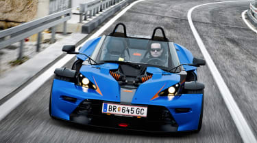 KTM X-Bow GT windscreen roof