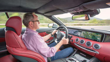 Mercedes-Benz S-class – cabin