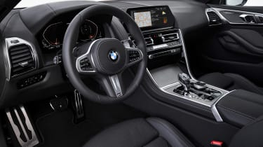 BMW M850i coupe review - dash