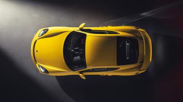 Porsche 718 Cayman GT4 top