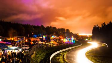 Nurburgring - night shot
