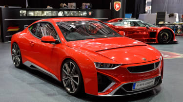 Gumpert Explosion at the Geneva motor show 2014