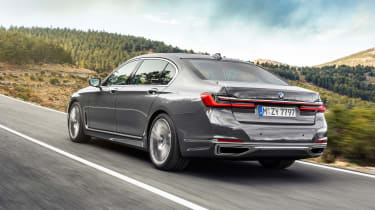 2019 BMW 7-series - rear quarter