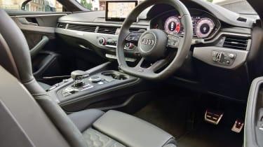 Audi RS5 – interior