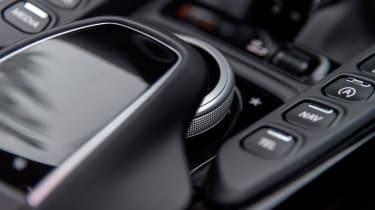 Aston Martin Vantage – infotainment control panel