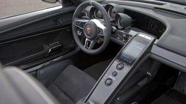2013 Porsche 918 Spyder dashboard steering wheel