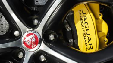 Jaguar F-type Coupe R brake caliper