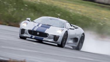 2013 Jaguar C-X75 prototype TOP SPEED