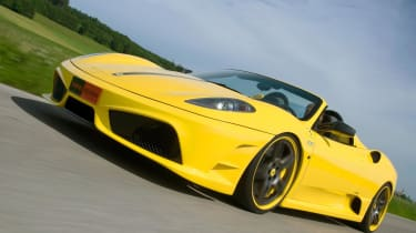 Novitec Ferrari 16m front track