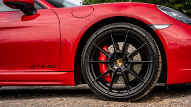 Porsche 718 Boxster GTS 4.0 PDK – wheel